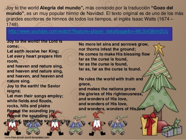 Cancion de en navidad