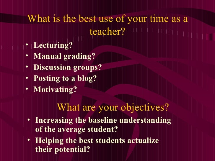 Technology and Students: Mix, Match or Miss? Slide 3