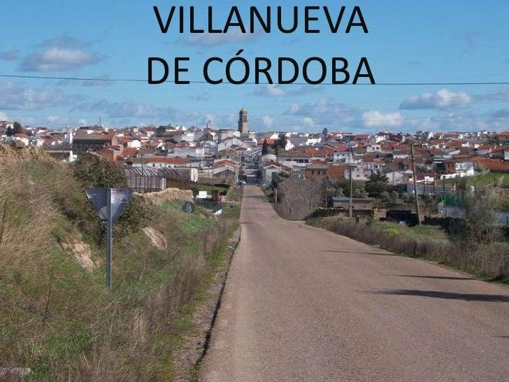 VILLANUEVA DE CÓRDOBA<br />