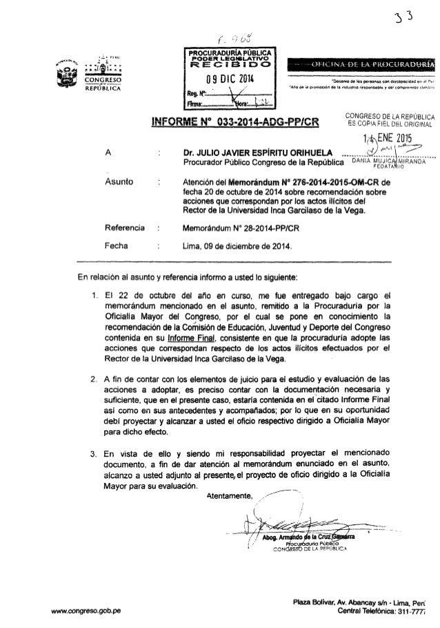 "a  . ' f,  w De  PROCURADURÍA PÚBLICA PODER LEGBLATIVO  RECHBIDC usnicziiii        iQL- HM:  ¿""mi v .  ¿ .  .  1. o',  _ á..."