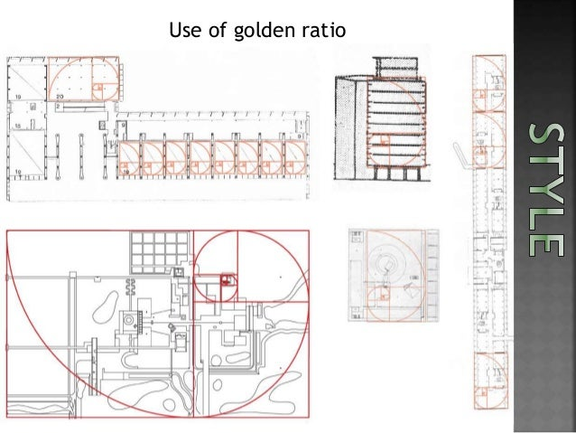 ... geometric forms; 7. Use of golden ratio ...