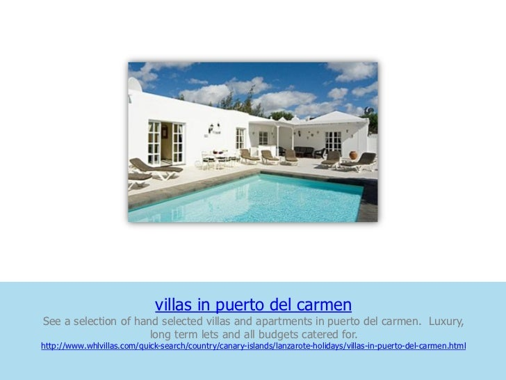 villas in puerto del carmenSee a selection of hand selected villas and apartments in puerto del carmen. Luxury,           ...