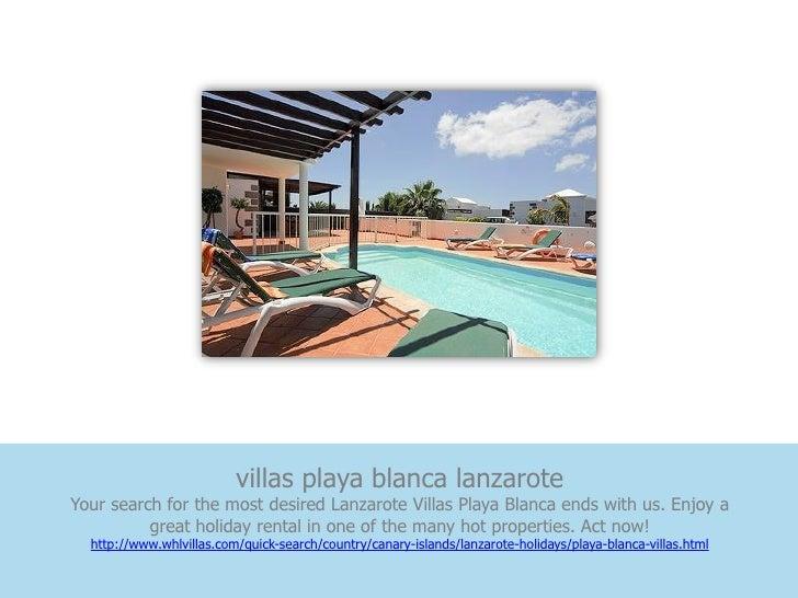 villas playa blanca lanzaroteYour search for the most desired Lanzarote Villas Playa Blanca ends with us. Enjoy a         ...