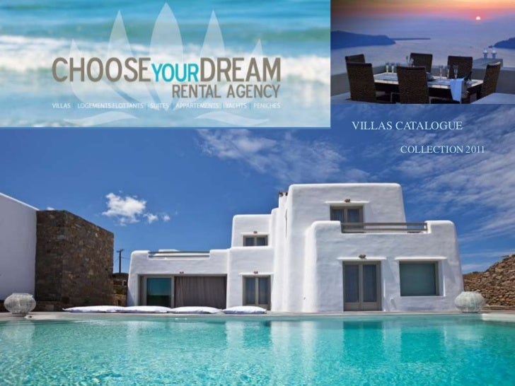 VILLAS CATALOGUE       COLLECTION 2011