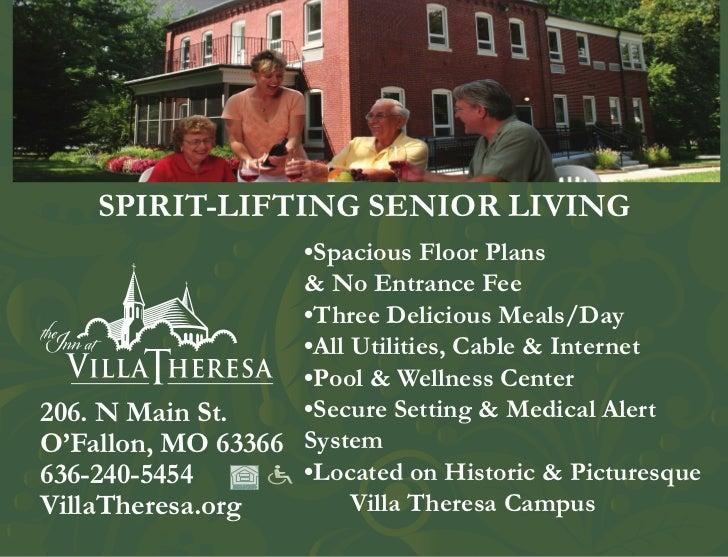 SPIRIT-LIFTING SENIOR LIVING                   •Spacious Floor Plans                   & No Entrance Fee                  ...