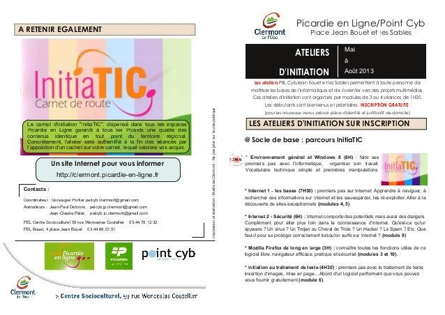 Picardie en Ligne/Point CybA RETENIR EGALEMENT                                                                            ...