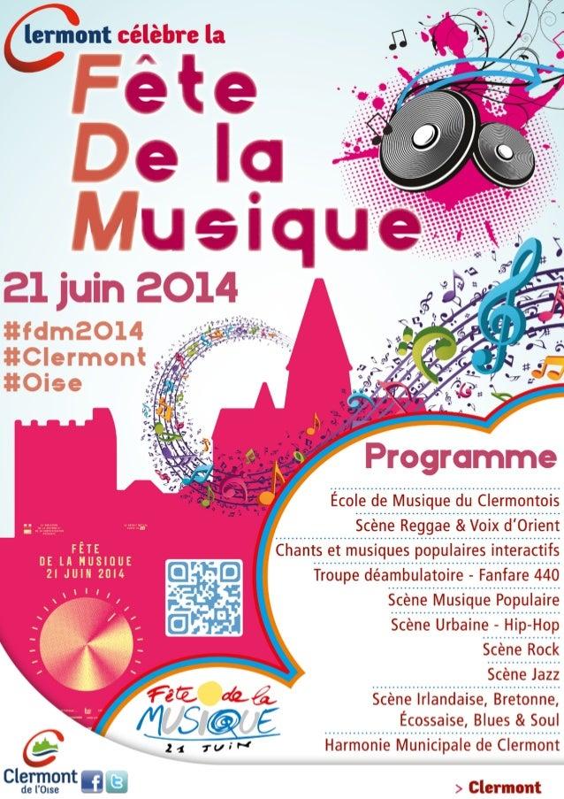 11H00 - 16H00 - Centre Socioculturel - École de Musique du Clermontois 11H00 - 12H00 Ensemble Jazz du Clermontois - Clich...