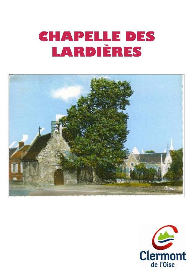 CHAPELLE DES LARDIÈRES