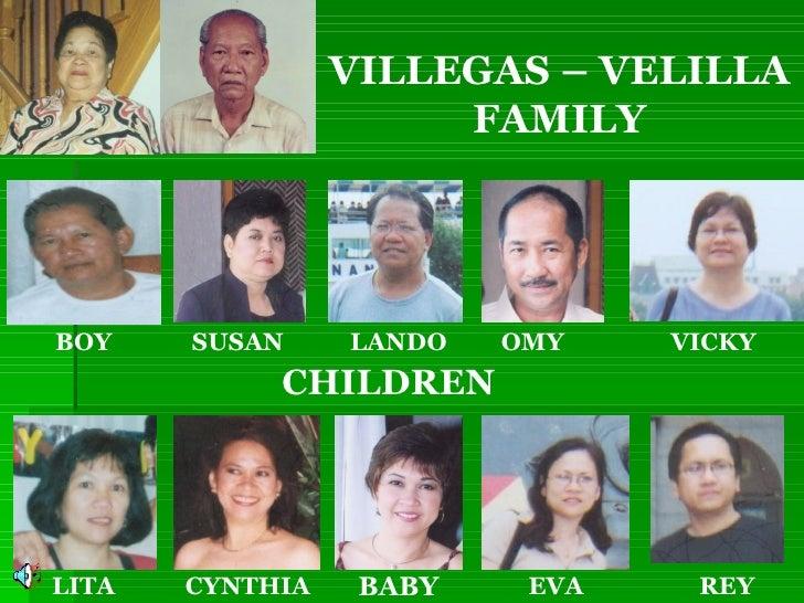 BOY SUSAN LANDO OMY VICKY REY EVA LITA CYNTHIA BABY VILLEGAS – VELILLA FAMILY CHILDREN
