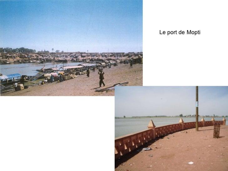 Historique et dynamique de l'urbanisation à Mopti  Slide 3