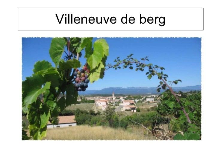 Villeneuve de berg