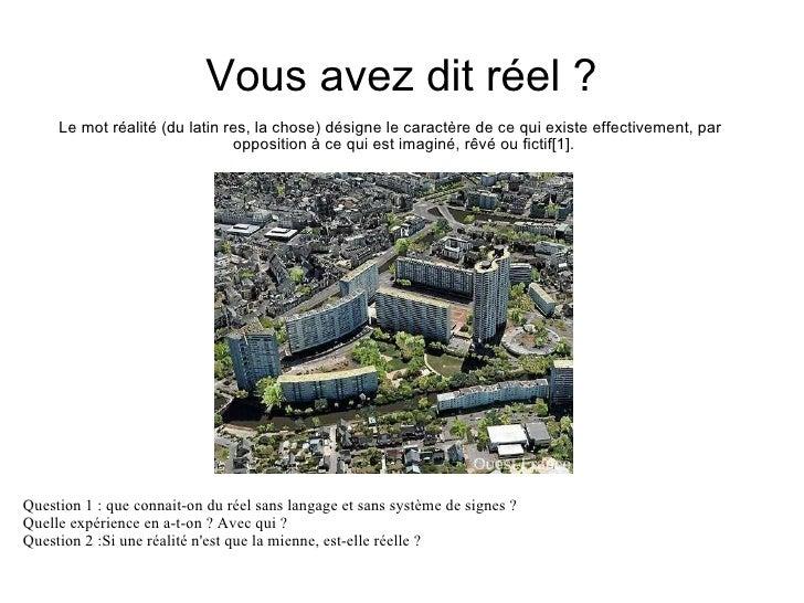 Ville réelle / ville virtuelle Slide 3
