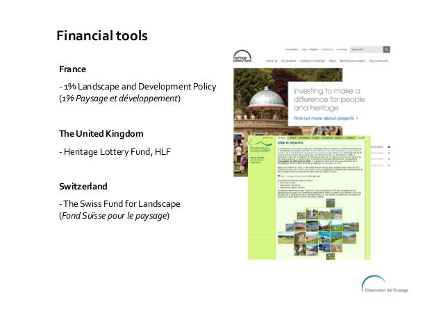 Financialtools France -1%LandscapeandDevelopmentPolicy (1%Paysageetdéveloppement)  TheUnitedKingdom -H...