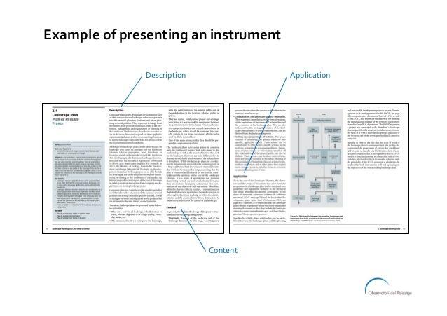 Exampleofpresentinganinstrument Description Content Application
