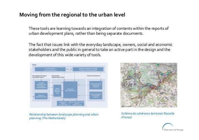 Thesetoolsarelearningtowardsanintegrationofcontentswithinthereportsof urbandevelopmentplans,ratherthanbe...
