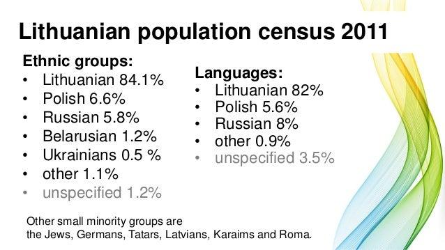 Vilma Bačkiūtė: Lithuania: Population and Education Slide 2