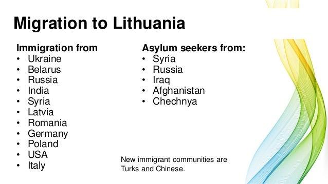 Vilma Bačkiūtė: Lithuania: Population and Education Slide 3