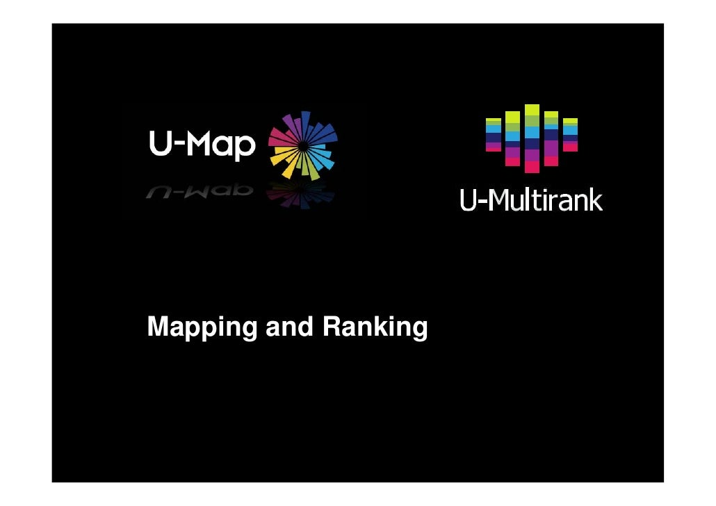 Mapping and Ranking