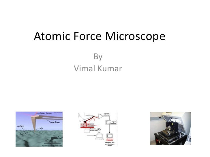 Atomic Force Microscope<br />By<br />Vimal Kumar<br />