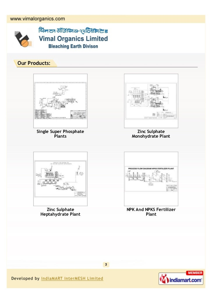 Vimal Organics Limited, Ghaziabad, Turnkey Projects Slide 3