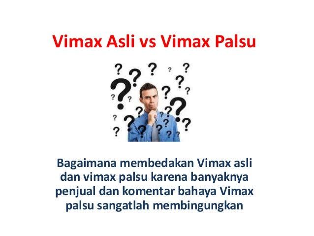 Vimax Asli vs Vimax PalsuBagaimana membedakan Vimax aslidan vimax palsu karena banyaknyapenjual dan komentar bahaya Vimaxp...