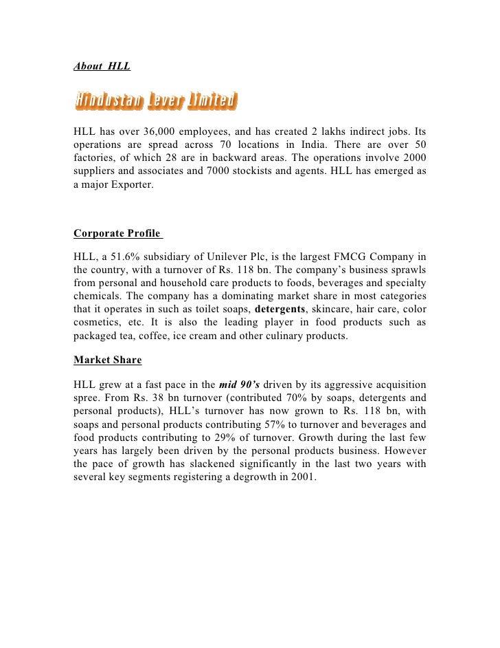 premium company profile unilever plc Unilever structure & design  defining organizational structure unilever organization structure (as case study)  company is large.