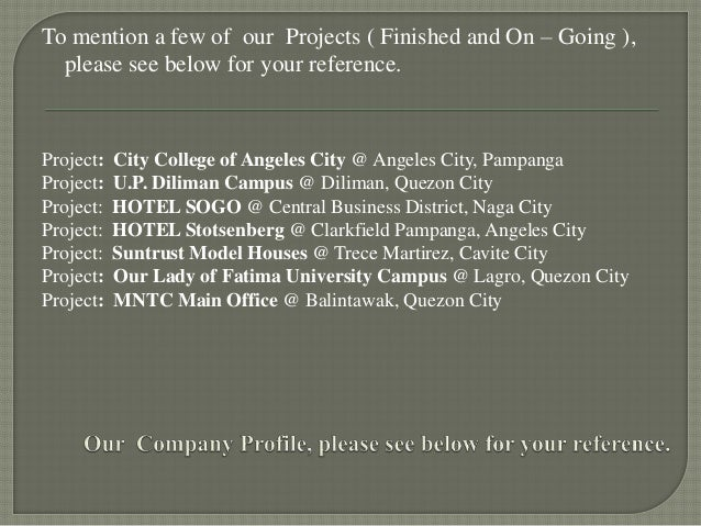 Vim Construction Company Profile