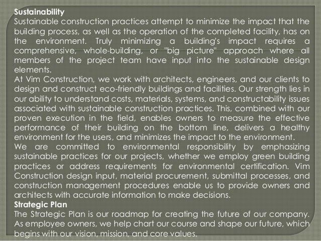 building construction company profile pdf