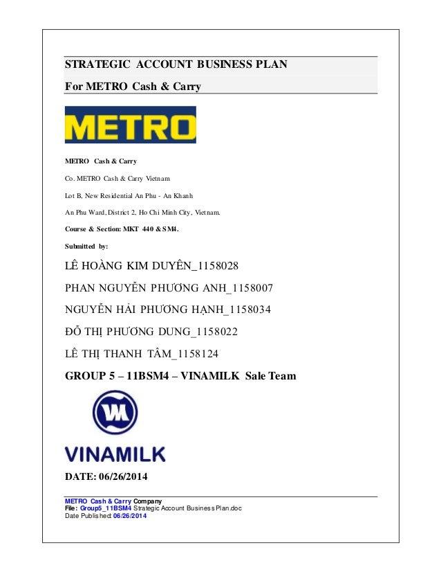 metro fm business plan