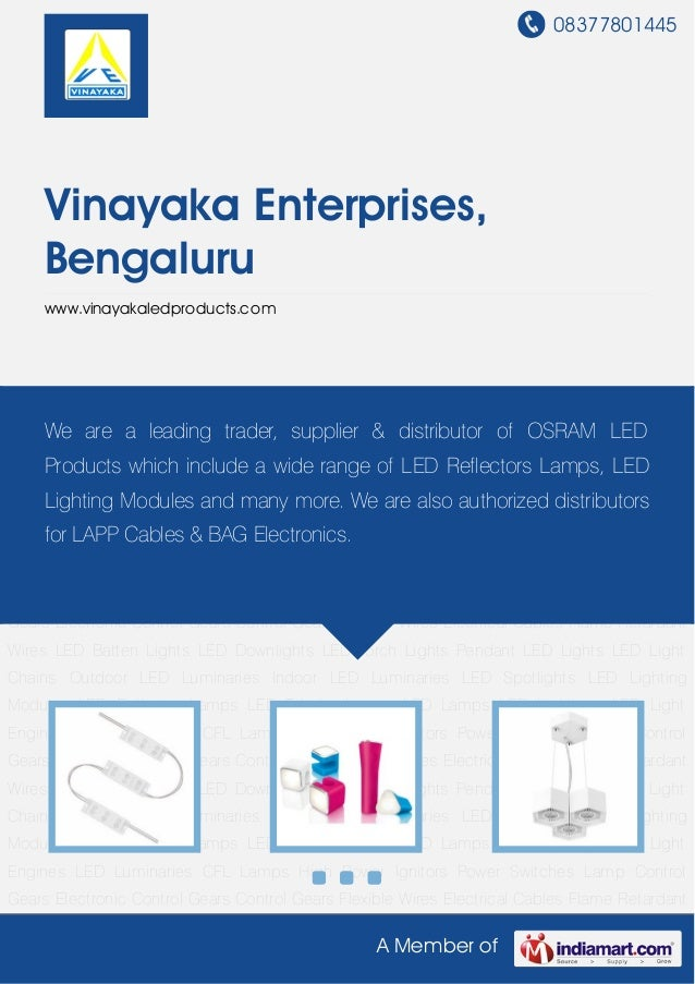 08377801445A Member ofVinayaka Enterprises,Bengaluruwww.vinayakaledproducts.comLED Light Chains Outdoor LED Luminaries Ind...
