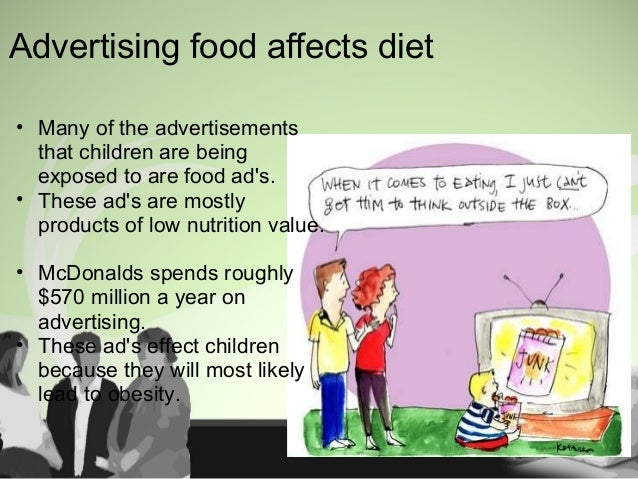 Children are Affected by Ad's Advertising is a multi million dollar project that has an huge influence on children Kids ar...