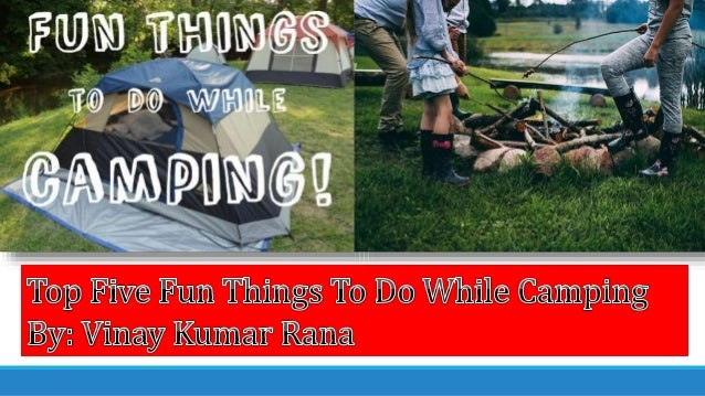 Games To Play While Camping