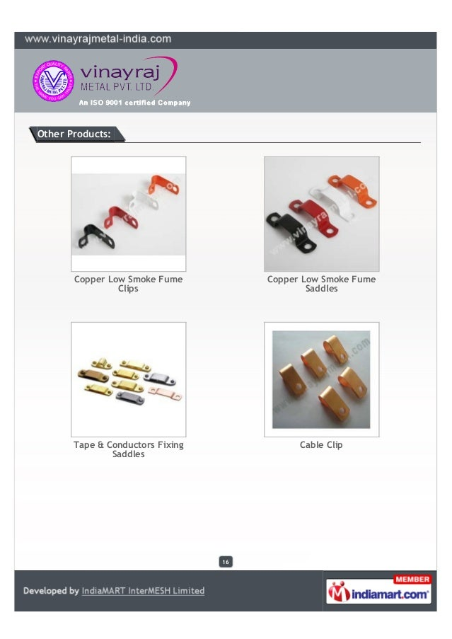 Vinayraj Metal Private Limited Rajkot Electrical Wiring Accessories