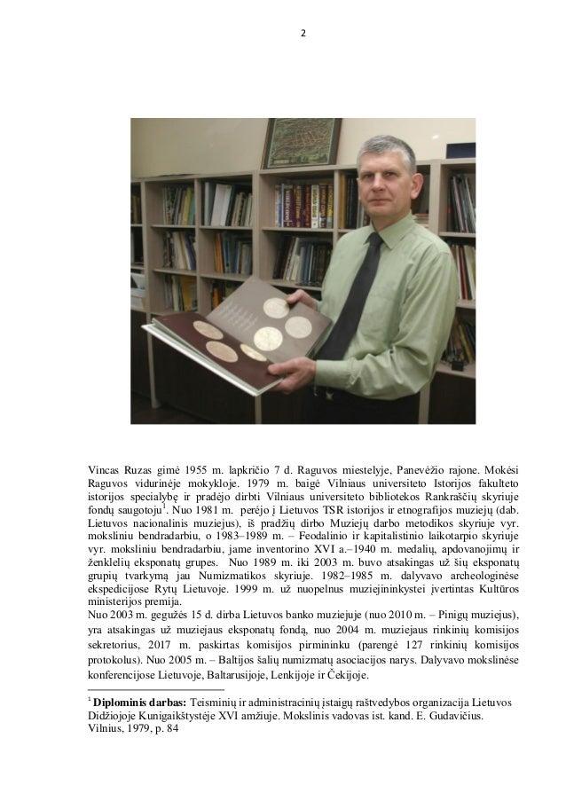 Vincas Ruzas bibliographical index 2019 Slide 2