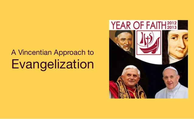 A Vincentian Approach to Evangelization