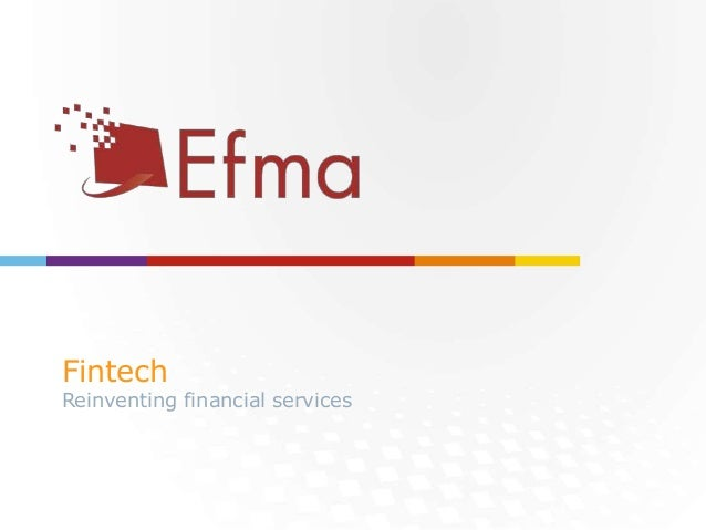 To the endorsing partners SPECIAL THANKS Fintech Reinventing financial services