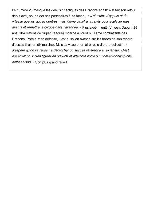 Vincent duport le dragon catalan Slide 3