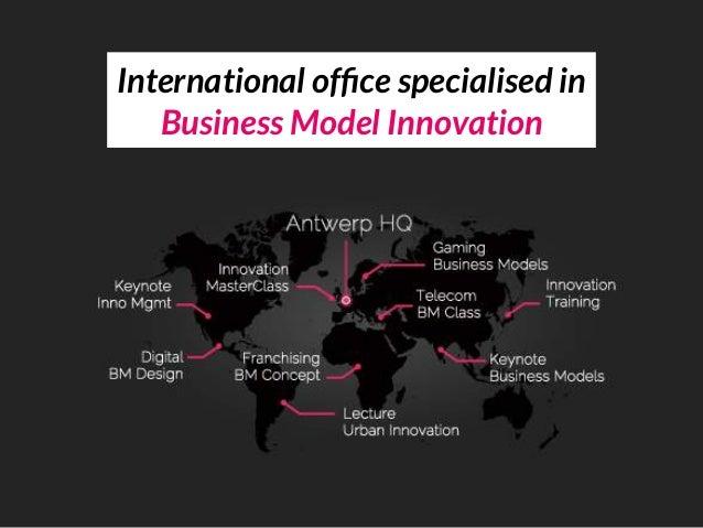 International office specialised in Business Model Innovation