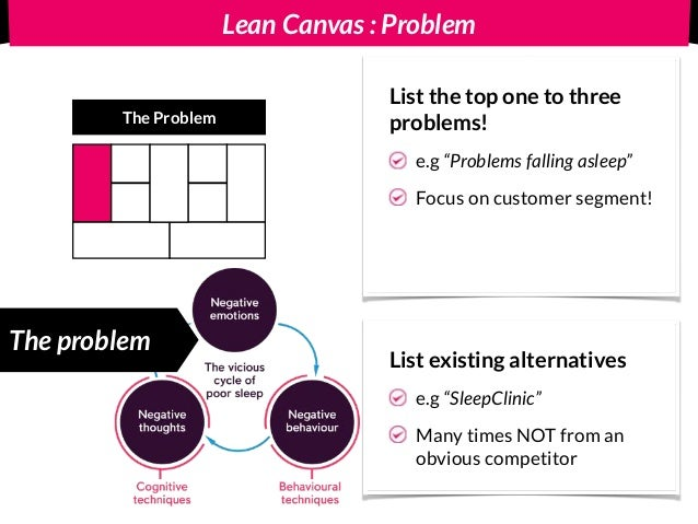 Lean Canvas : Revenue Streams & Cost Structure Revenue out of demos? First DEMO should address the TOP problems If you int...
