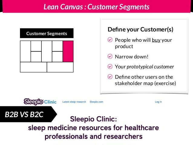 Lean Canvas : Key Metrics Key Metrics Key numbers that tell you how your business is doing Real time Before you get the sa...