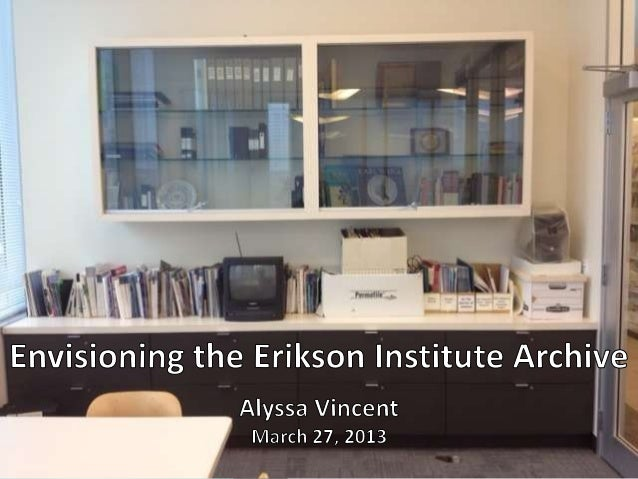 """""""The archives takes its    mission from the      mission of theinstitution, to educate.""""            -Society of American A..."""