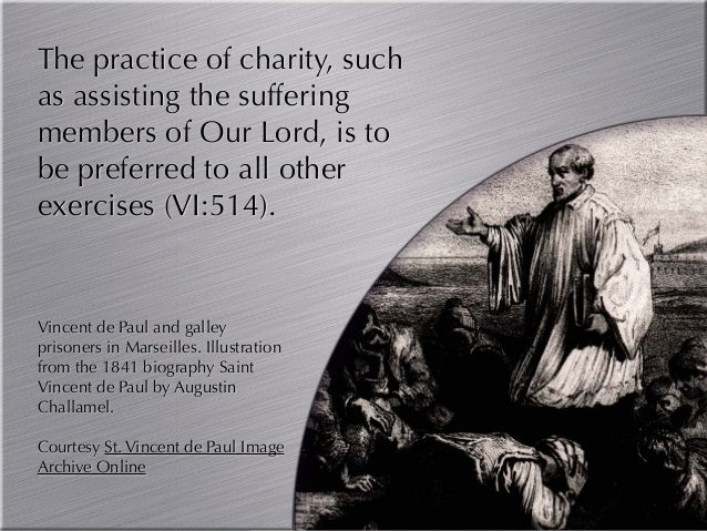 St Vincent De Paul Quotes About Suffering