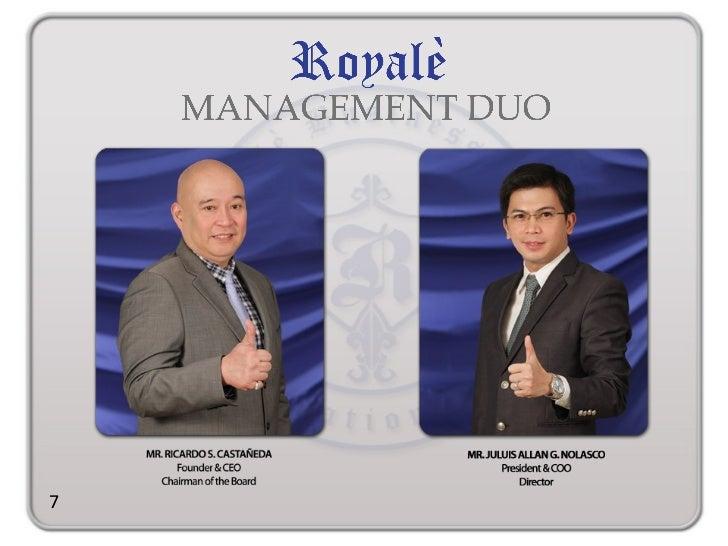 royale business presentation video