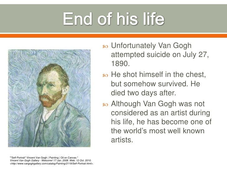 Image result for artist vincent van gogh died