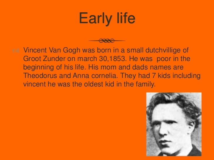 Van Gogh Facts For Kids