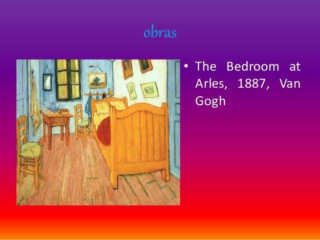 obras • The Bedroom at Arles, 1887, Van Gogh