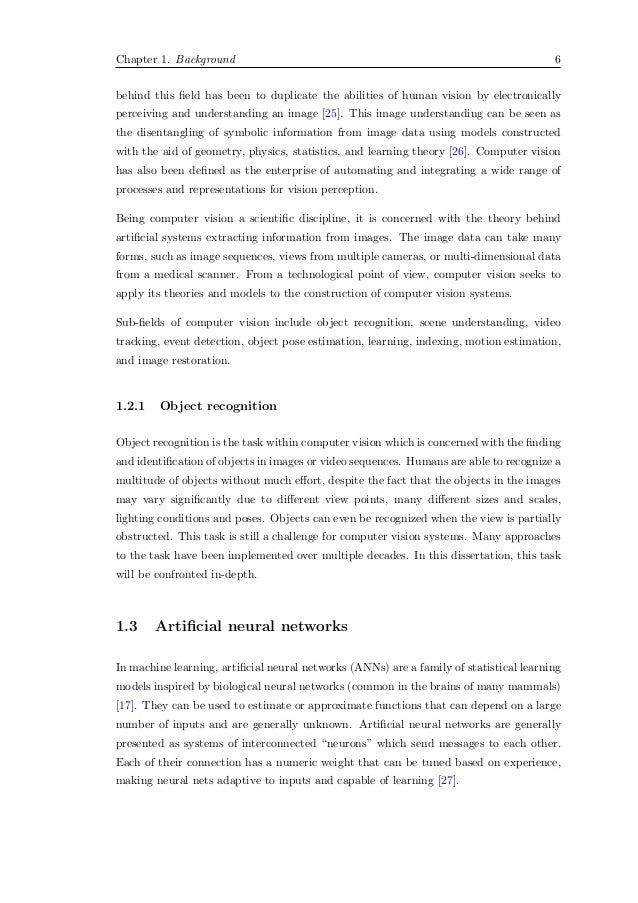 master thesis computer vision What would be a good phd thesis topic in machine learning and computer vision computer vision is a very active what is a good topic for a master thesis in.