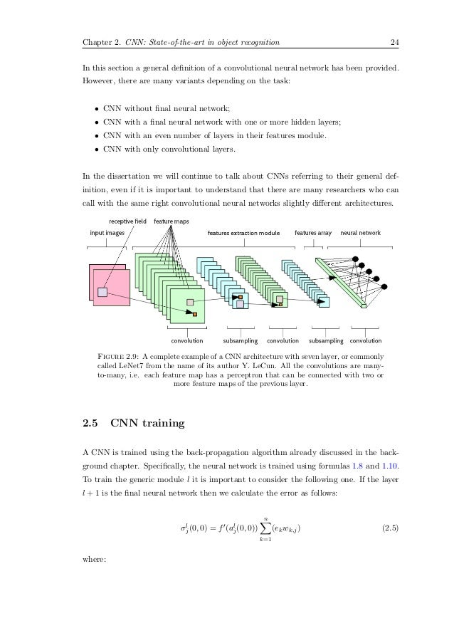 neural network thesis