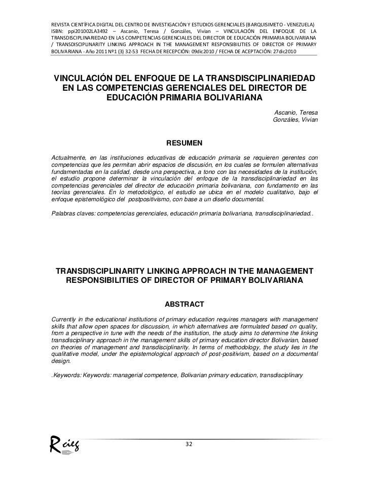 REVISTA CIENTÍFICA DIGITAL DEL CENTRO DE INVESTIGACIÓN Y ESTUDIOS GERENCIALES (BARQUISIMETO - VENEZUELA)ISBN: ppi201002LA3...