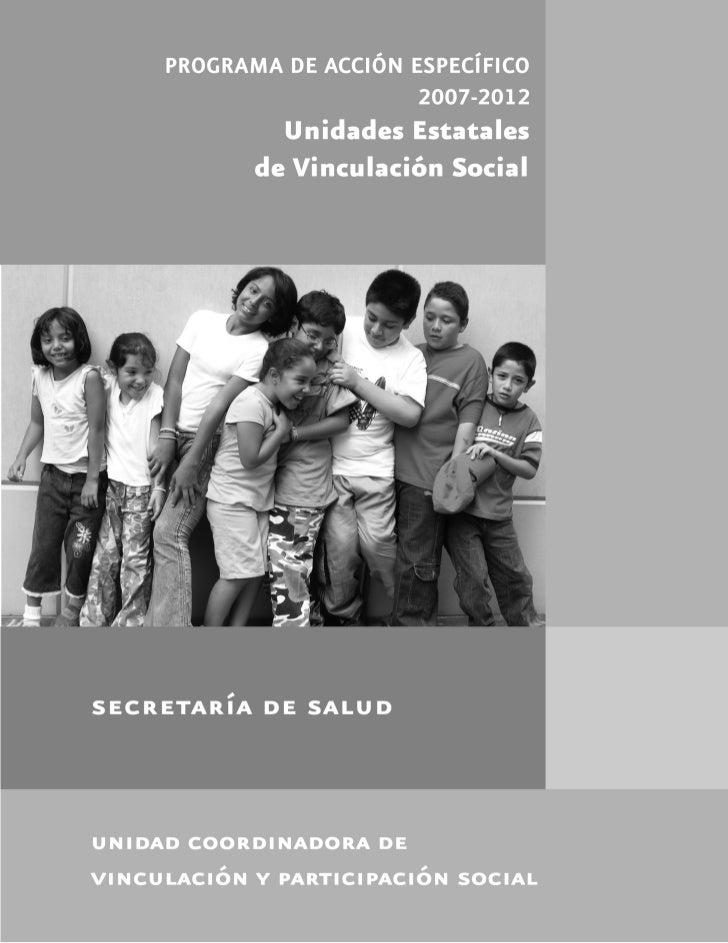 UNIDADES ESTATALES DE VINCULACIÓN SOCIAL
